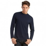 B&C Men's Exact 150 Long Sleeve T Shirt.jpg