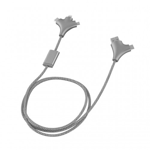 XOOPAR WY CHARGING CABLE SILVER