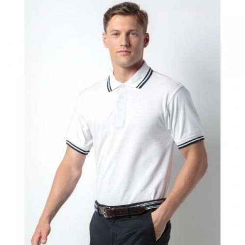 Kustom Kit Men's Tipped Polo Shirt.jpg