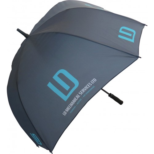 Fibrestorm Auto Square Umbrella