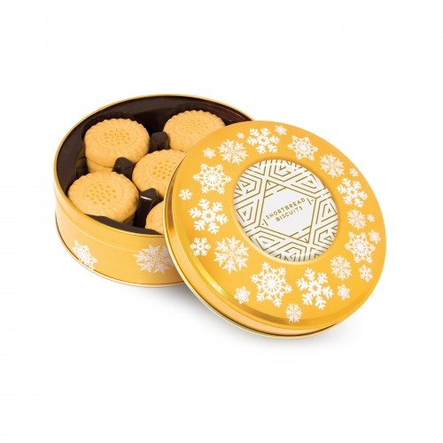 Share Tin - Shortbread Biscuits - Gold