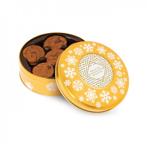 Belgian Chocolate Cookies Sharing Tin