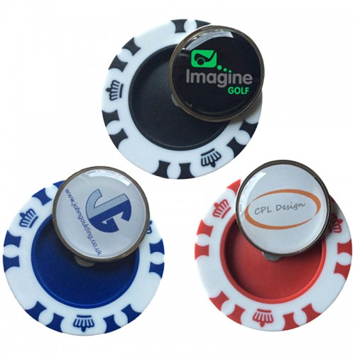 Crown Poker Chip Marker