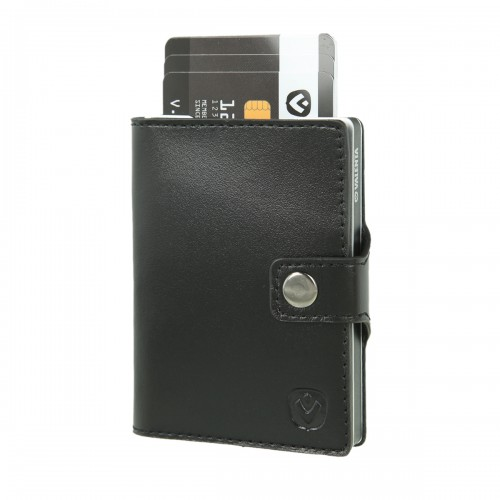 Valenta Card Case Wallet Aluminium