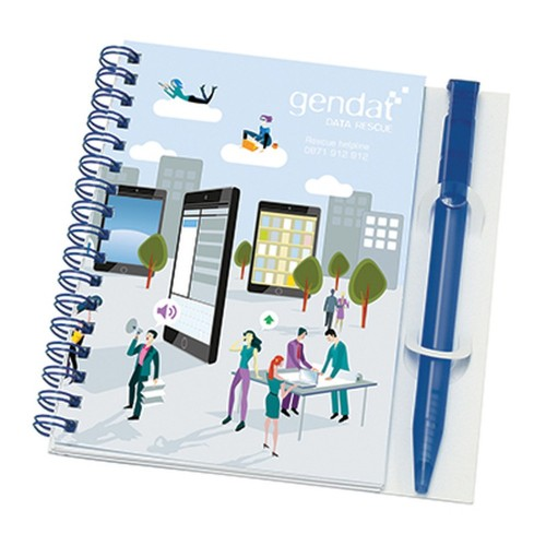 Wiro-Smart - Poly Note Pad and Pen A6.