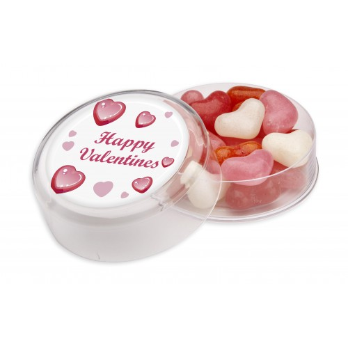 Maxi Round Pot filled with JBF Hearts