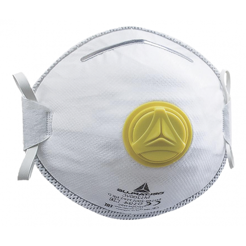 FFP2 Valved Moulded Disposable Mask (Box of 10)