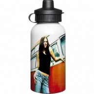 Aluminium 400ml White Drinks Bottle.jpg