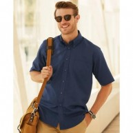Fruit of The Loom Men's Short Sleeve Oxford Shirt.jpg