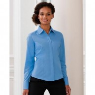 Ladies Long Sleeve Poplin Shirt.jpg
