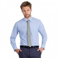 B&C Men's Oxford Long Sleeve Shirt.jpg