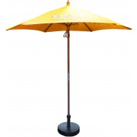 2.5m Wooden parasol Umbrella