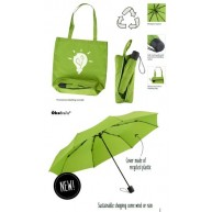Mini umbrella ÖkoBrella with Shopping Bag