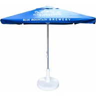 2m Square Aluminum parasol Umbrella