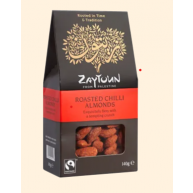 Zaytoun Fairtrade Roasted Chilli Almonds