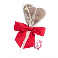 Chocolate Heart Lolly