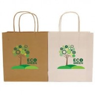 A5 Hardwick Smooth Kraft Paper Bag