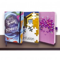 Infusion A5 Soft Touch Process Printed or Pantone Matched Notebook