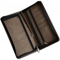 Prestbury Zipped Travel Wallet