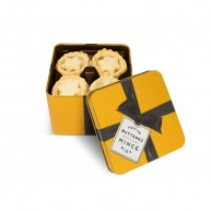 Large Gold Tin - Mince Pies