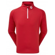 FootJoy Chill-Out Pullover (Athletic Fit) Red