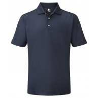 FootJoy Stretch Pique Solid Polo Shirt Navy
