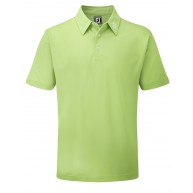 FootJoy Stretch Pique Solid Polo Shirt (Athletic Fit) Lime