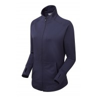 FootJoy Ladies Full-Zip Brushed Chill-Out Navy