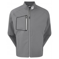 FootJoy Hydrolite Rain Jacket Charcoal with Black and White