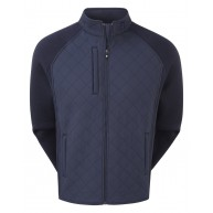 FootJoy Fleece Quilted Jacket Navy