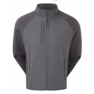 FootJoy Fleece Quilted Jacket Charcoal