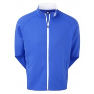 FootJoy Performance Full-Zip Wind Jacket Nautical Blue with White