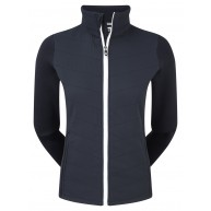 FootJoy Ladies Thermal Quilted Jacket Navy with White