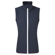 FootJoy Ladies Thermal Quilted Vest Navy with White