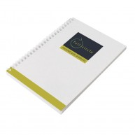 Enviro-Smart - A6 White Cover Wiro-Bound Pad.