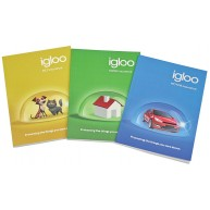A6 Trio 3 books - 35 sheets per book with paper band