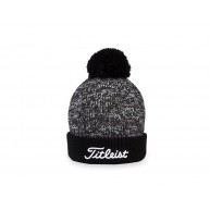 Titleist Winter Pom Pom Beanie Black with White