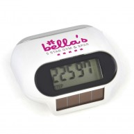 Mishnock Solar Powered Pedometer