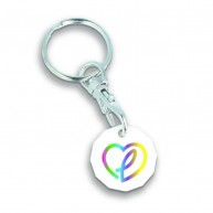 New Trolley Coin Keyring
