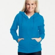 Neutral Fairtrade Ladies Zip Hoodie