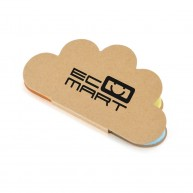 Cloud Shaped Sticky Note Booklet