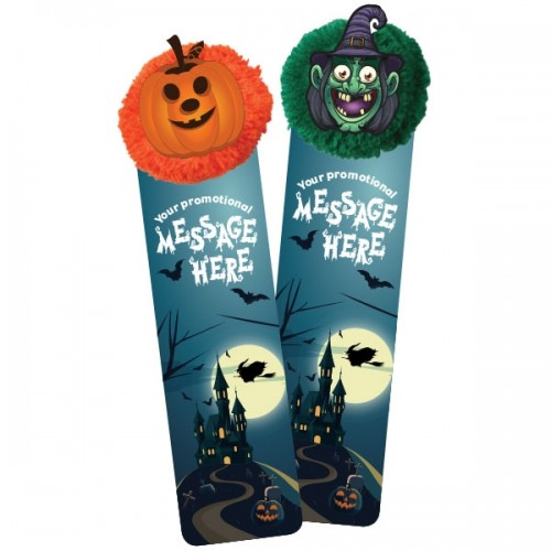 Mophead Halloween Bookmarks