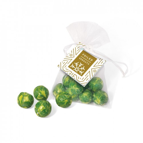 Organza Bag - Chocolate Sprouts