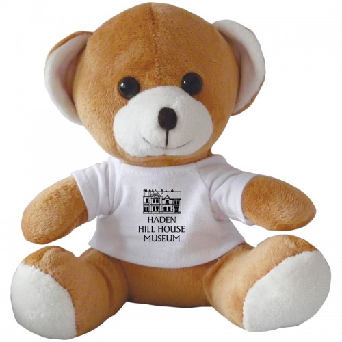 "Jay Jay Teddy Bear with Branded White T Shirt (10"")"