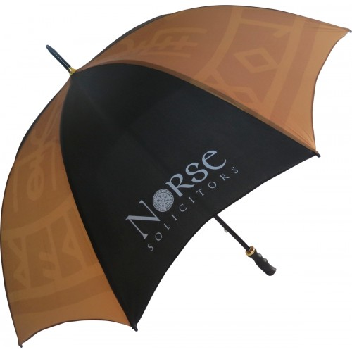 Eclipse Black Umbrella
