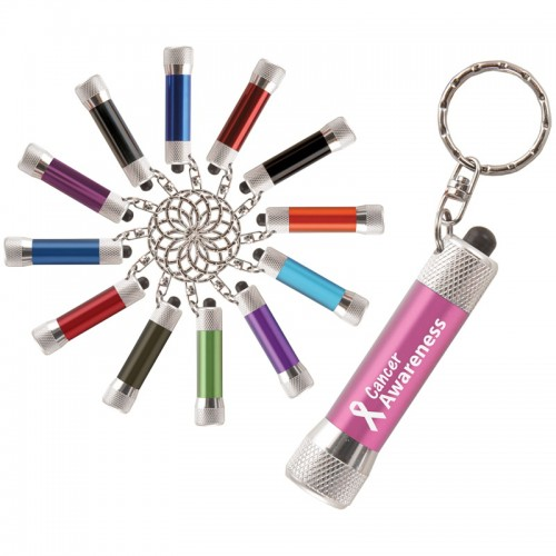 McQueen 3-LED Torch Keyring