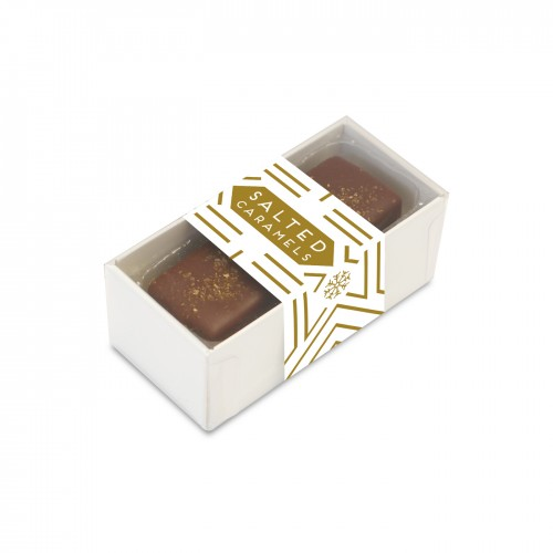 2 Choc Box - Dark Chocolate Salted Caramels
