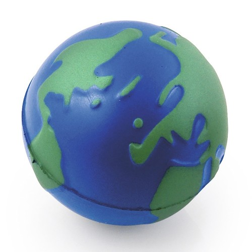 Globe Shaped Stress Ball