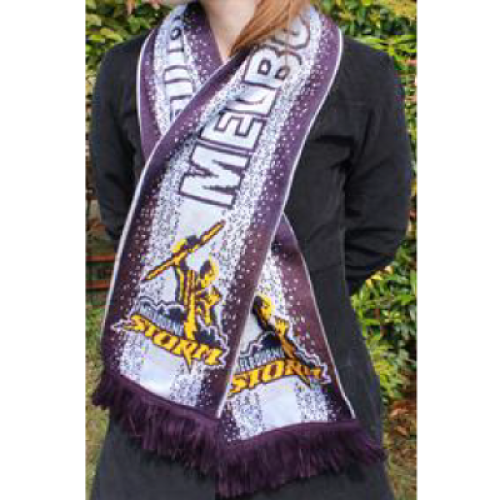 Jacquard  Knitted Acrylic Scarf